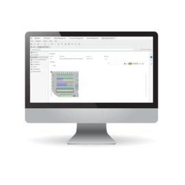 Footprint-Ansicht: Monitor zeigt Überblick über geplante und vorhandene Assets im Rechenzentrum.